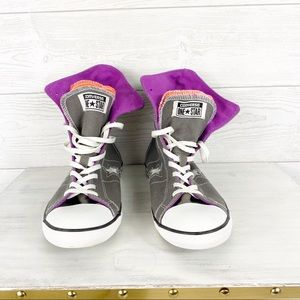 Converse One Star High Top Fold Down Size 7.5